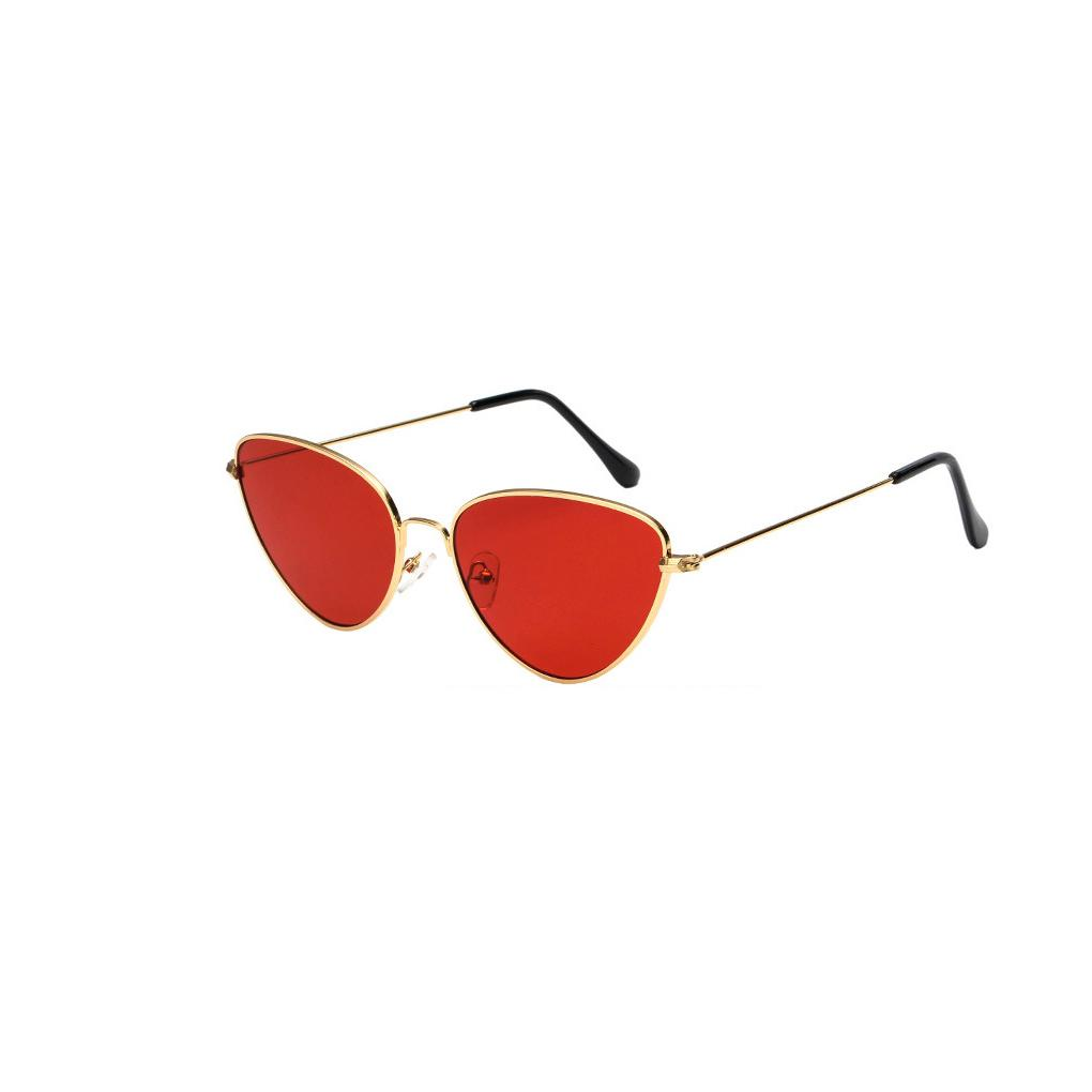 f086246fd6e8 Designer Women Cat Eye Sunglasses Tinted Color Lens Vintage Shaped  Sunglasses Lady Eyewear 70s Luxury Female Best Sunglasses For Men Vuarnet  Sunglasses From ...