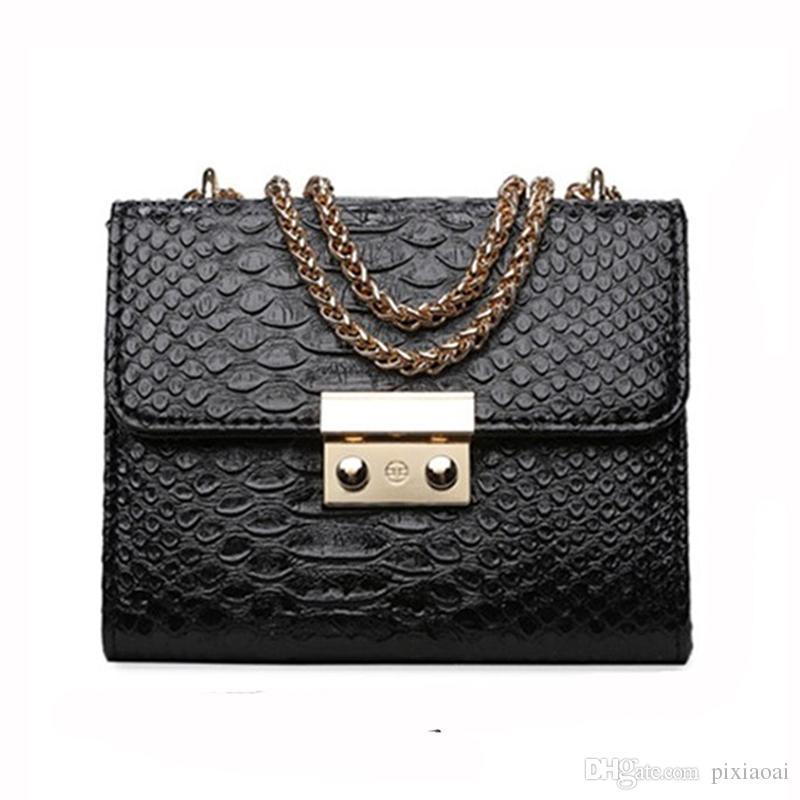Famous Brand Women PU Leather Bags Messenger Bag Fashion Mini Small Bags  Chain Ladies Shoulder Purse And Handbags Summer Bag Wholesale Handbags Cheap  ... f84a801f8502c