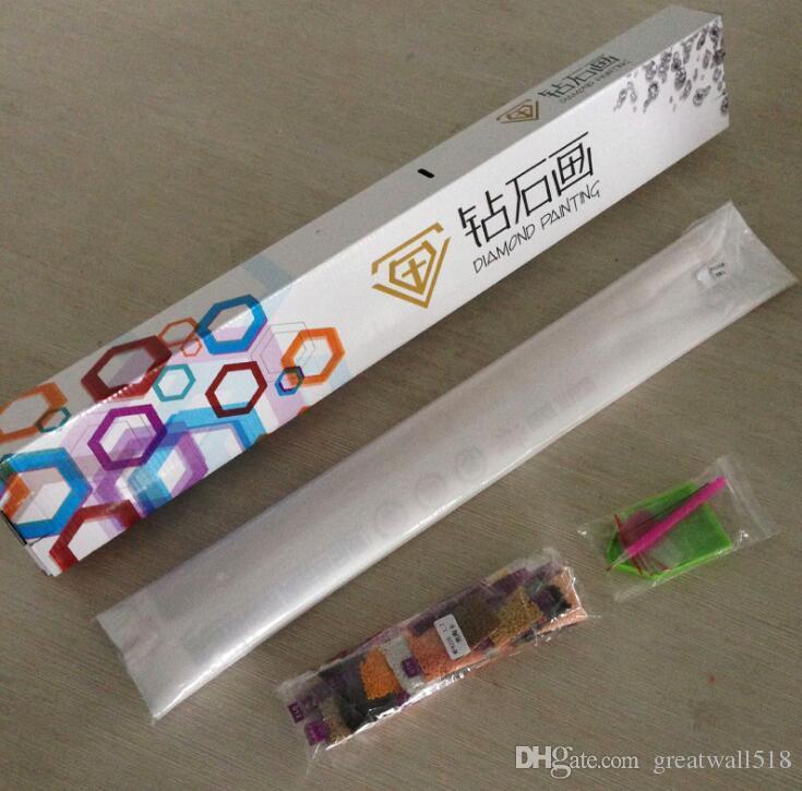 Pintura diamante BRICOLAJE Boda China Bordado Diamante 5D Resina Completa Cuadrado Taladro Imagen De Rhinestone Mosaico Regalo Hecho A Mano LF-018