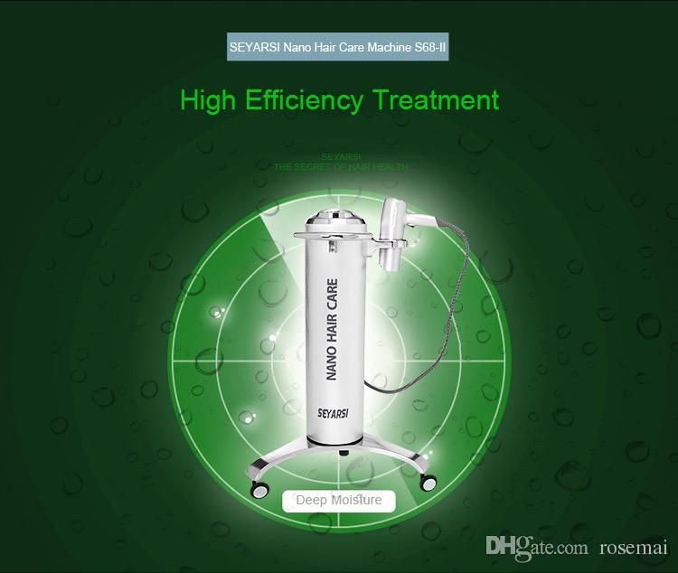 2017 Vendita diretta della fabbrica Nano Presenze capelli, macchina del regime dei capelli, vapore dei capelli S68-II