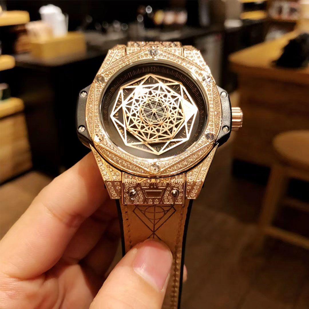 7eb92f7a6c0 Compre Relógio De Tatuagem Masculino Masculino. Interpretação Dos Mistérios  Das Formas Geométricas Na Dimensão Temporal. 316 Brocas De Aço Inoxidável.