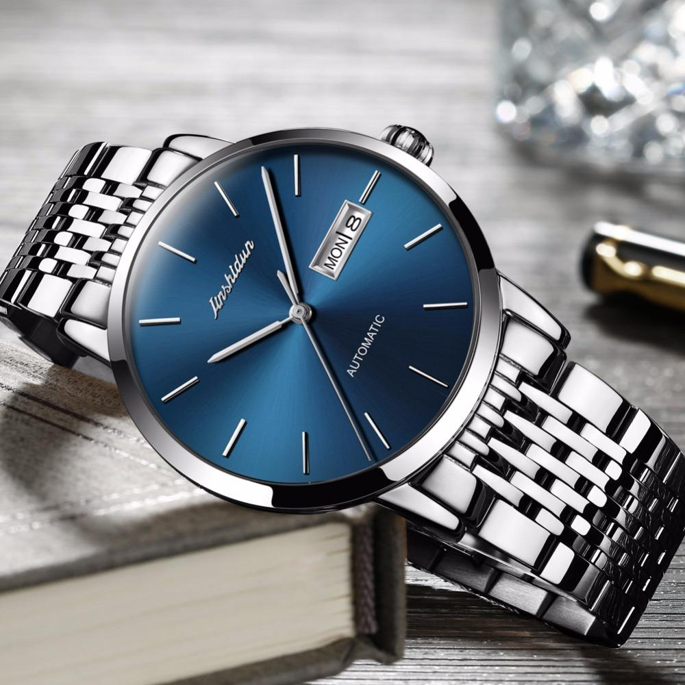b4d04a61fd5 Automatic Watch Men Luxury Brand Famous JSDUN High Quality Movement Watches  Relogio Masculino Waterproof Clock Erkek Kol Saati Watches For Sale Online  ...