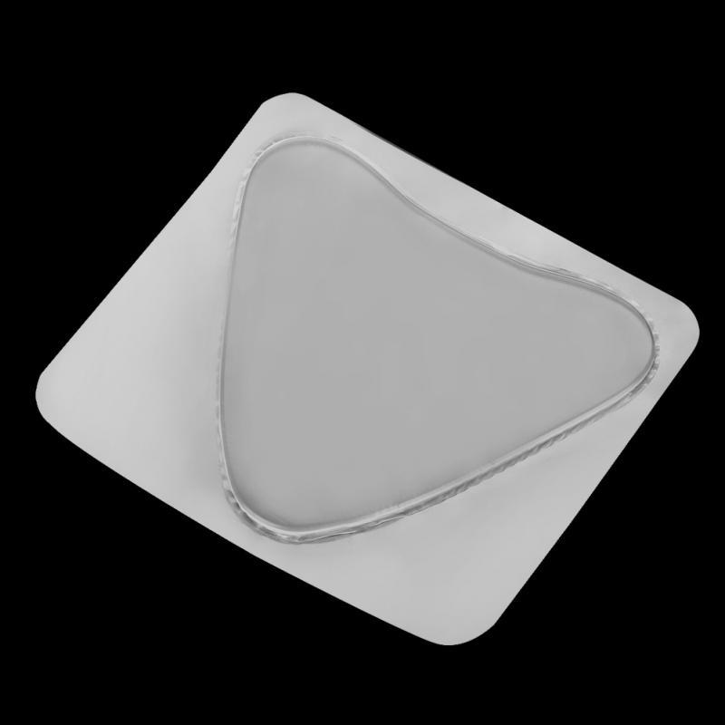Body Paint Silicone Bra Chest Pads Anti-wrinkle Transparent Breast Care  Tighten Lift Chest Triangle Pad Body Makeup Accessories