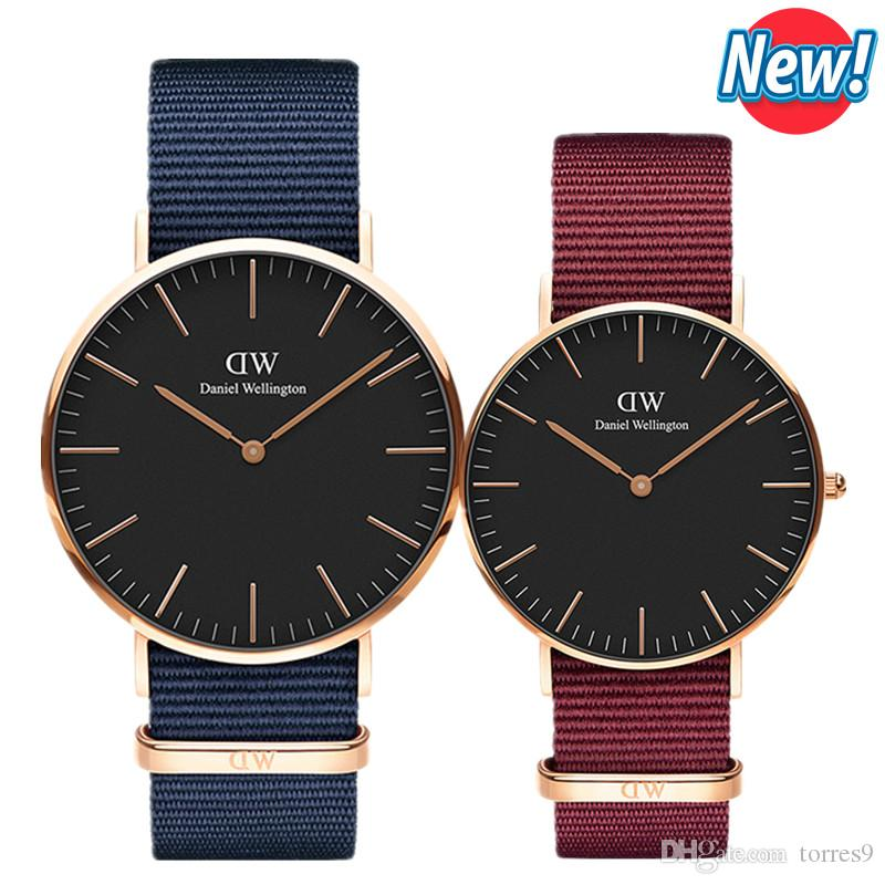 Compre Nuevo Best Seller Para Hombre Para Mujer Relojes Daniel Wellington  40mm Relojes Para Hombre 36 Relojes Para Mujer D Marca De Lujo Reloj De  Cuarzo DW ... 23555fda408d