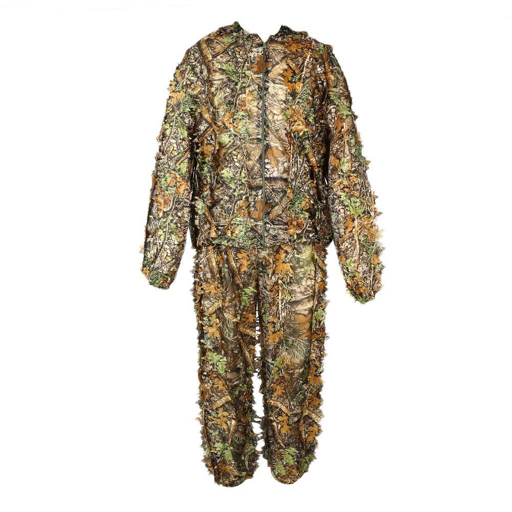 e7041466408 3D Camouflage Clothing Ghillie Suit for Hunting Shooter Game ...