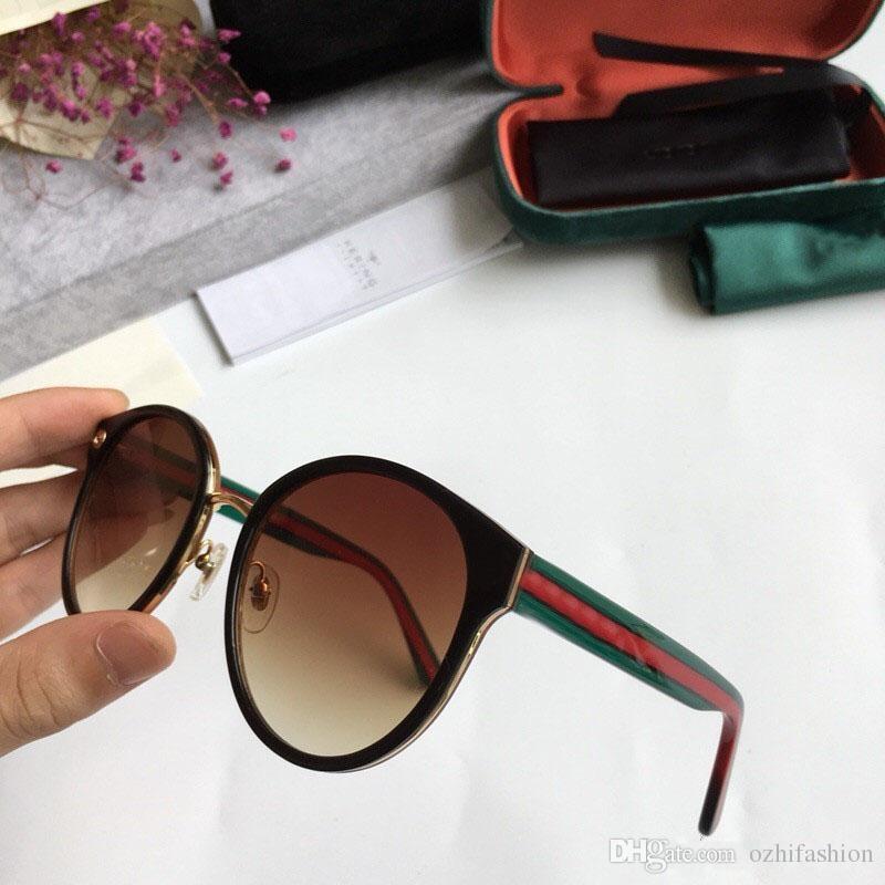 Compre Gucci Moda Uv400 Óculos De Sol Das Mulheres E Homens Adulto Retro  Óculos De Sol Retro Não Mainstream Unisex Retro Vintage Óculos De Sol 7  Cores Com ... 4aa4f70110