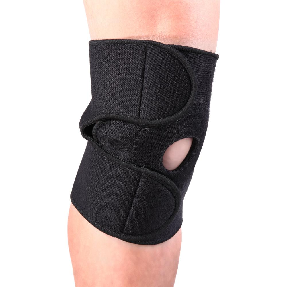1pc Elastic Breathable Sports Running Knee Pad Support Safety Guard Strap Health Care