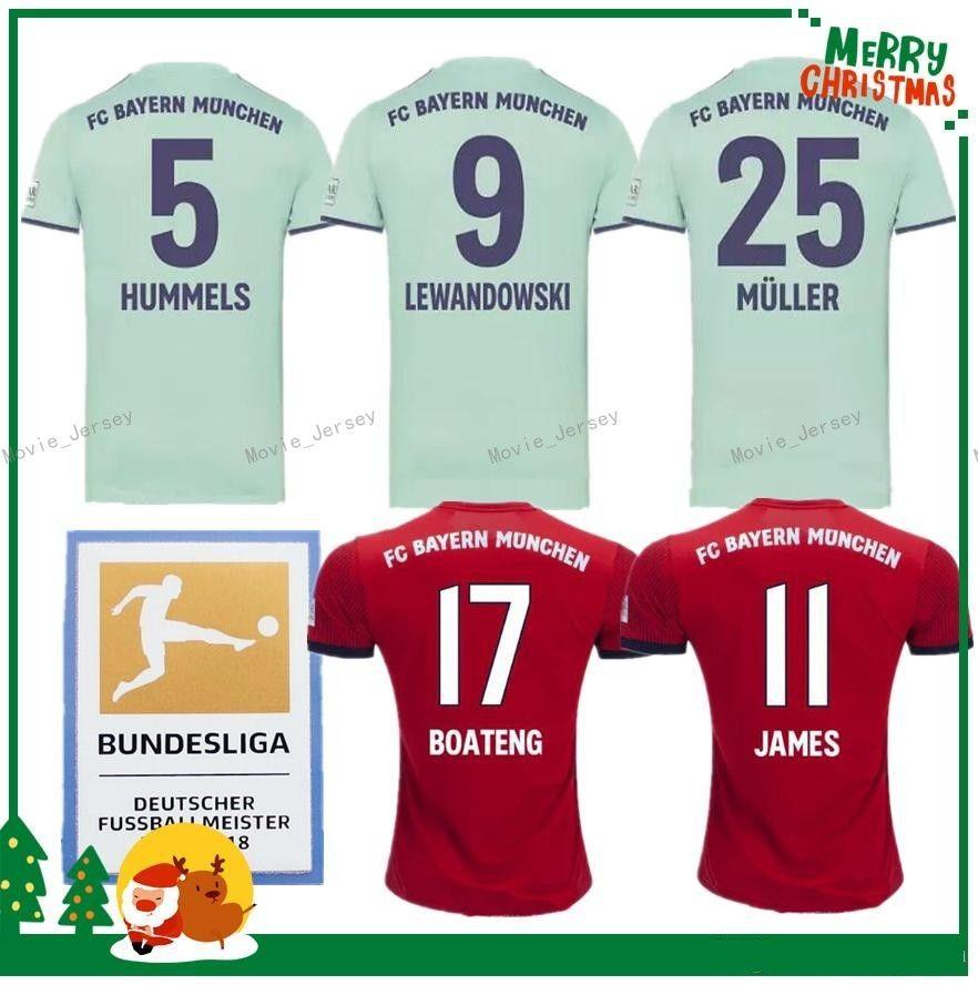 567a5437f Acquista Bayern Munich 2018 Maglia Da Calcio 2019 Thai Müller RIBERY ROBBEN  LEWANDOWSKI Maglie Di Calcio Bayern Munich Divise Da Calcio A $15.23 Dal ...