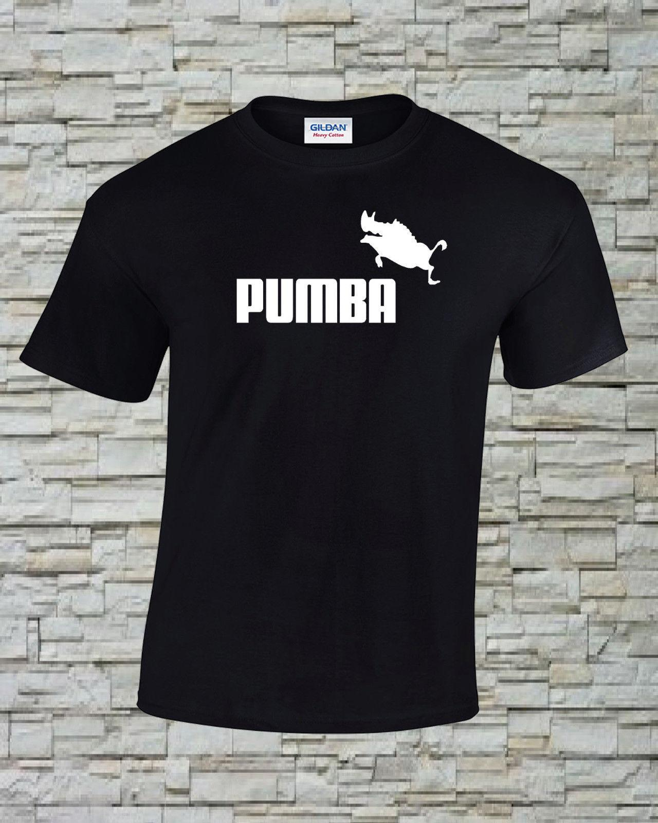 d36935c4d2f Pumba Funny Printed T Shirt Size, Print And Color Choice 2 Funny Unisex  Casual Tee Gift White Designer T Shirts Clever T Shirt From Buttonitbadges,  ...