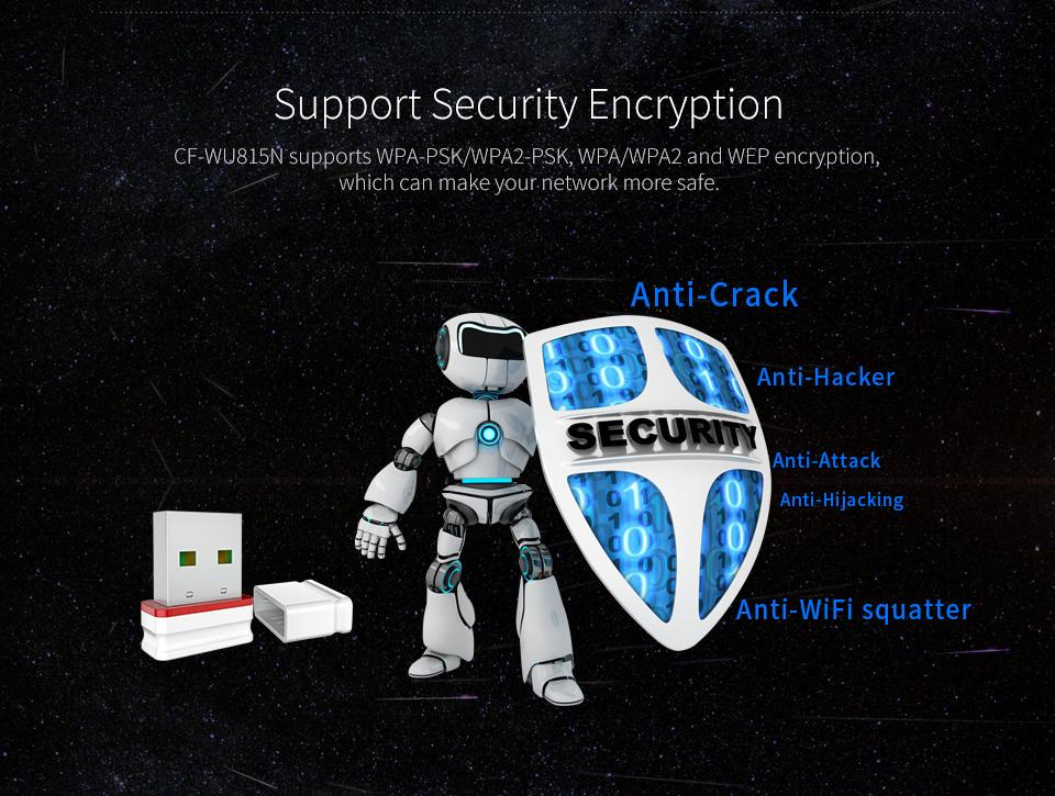 COMFAST Plug And Play 150Mbps MINI Wireless USB WiFi Adapter Dongle Network LAN Card 802.11n/g/b Antenna Wifi For Windows Syste