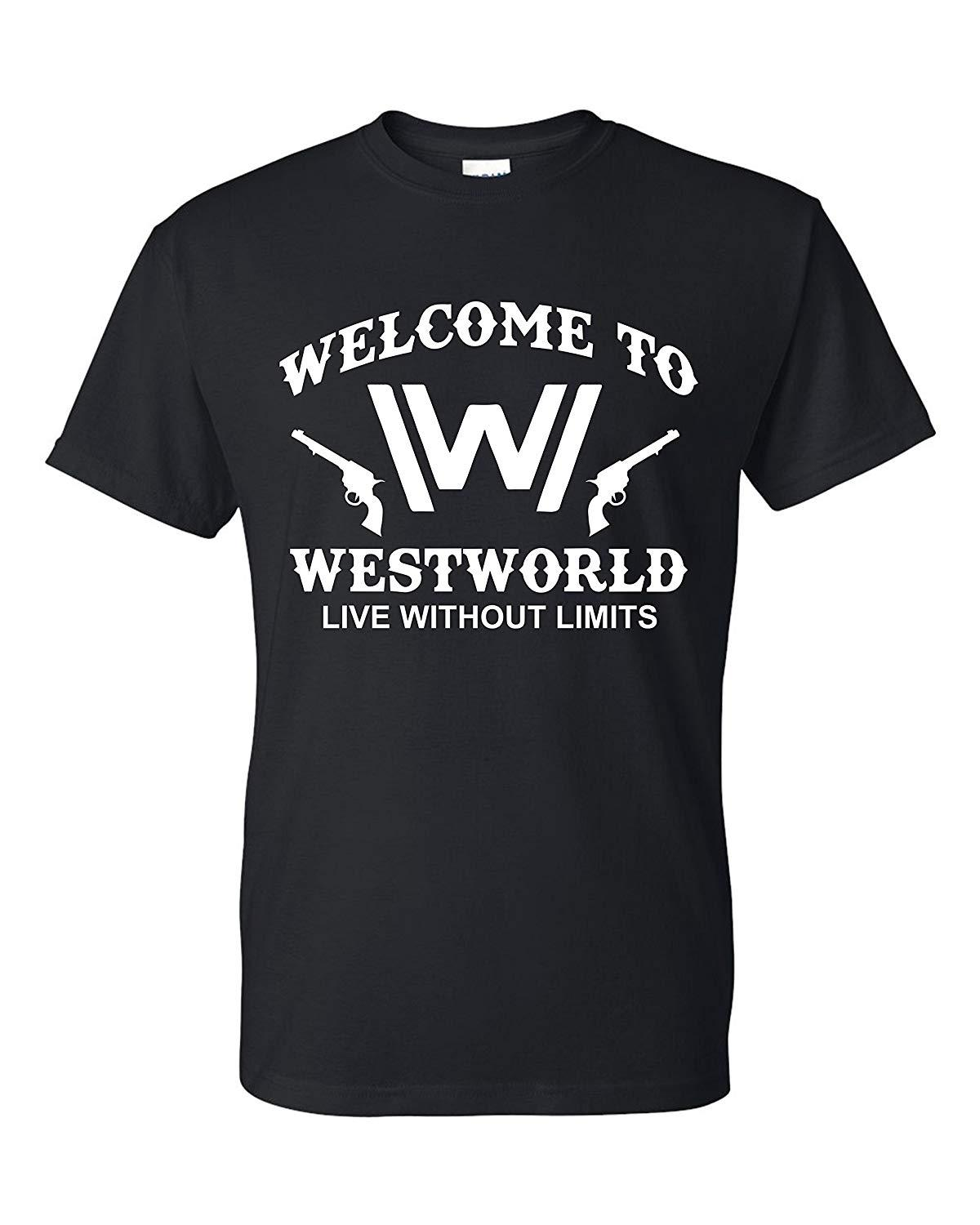 Freedomtees Welcome To Westworld Live Without Limits Maglietta unisex