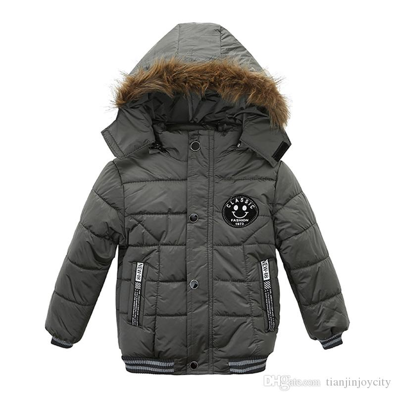 8112e64234ac Baby Boys Jacket 2018 Autumn Winter Jacket For Boys Children Jacket ...
