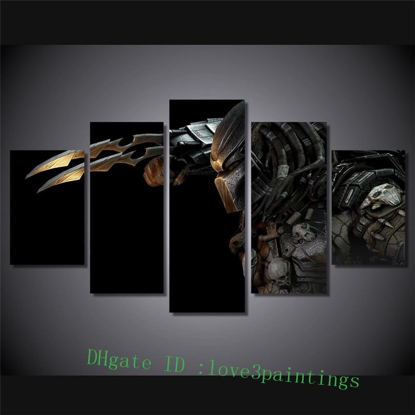 Predator Alien -1,5 Pieces Home Decor HD Printed Modern Art Painting on Canvas (Unframed/Framed)