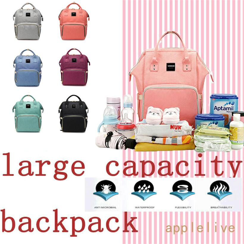 b8fe4d3784dbb 2019 KiddyCare Diaper Bag Backpack Multi Function Waterproof Maternity  Nappy Bags For Travel With Baby Large Capacity, Durable And Stylish From  Akfafa, ...