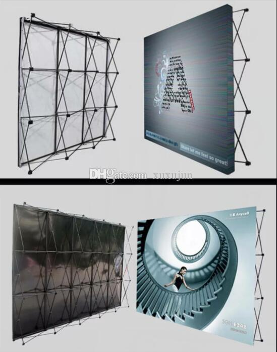 Exhibition Stand Frame : 305*305cm aluminum flower wall stand frame for tradeshow straight