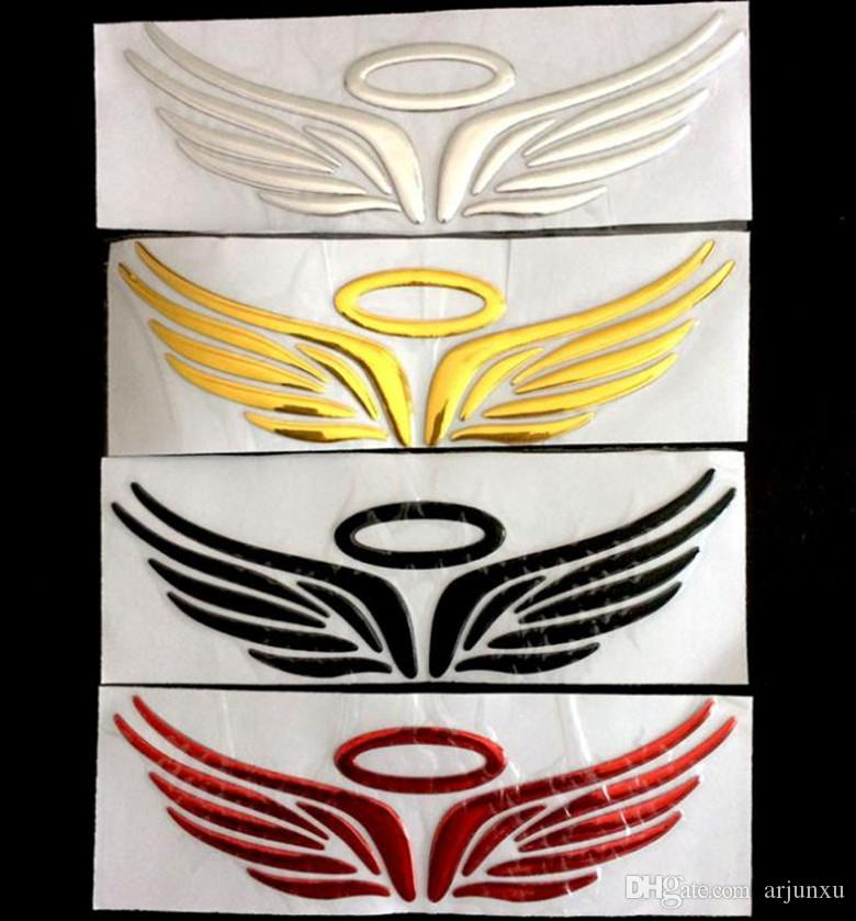 Car Birds Feathers Angel Wings Trunk Decal for K2 K5 Vinyl Rear Stickers