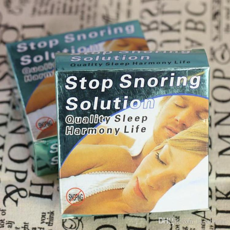Dropshipping anti ronco Snore Stopper Set anti molar mouthguard Anti ronco vaso contendo caixa
