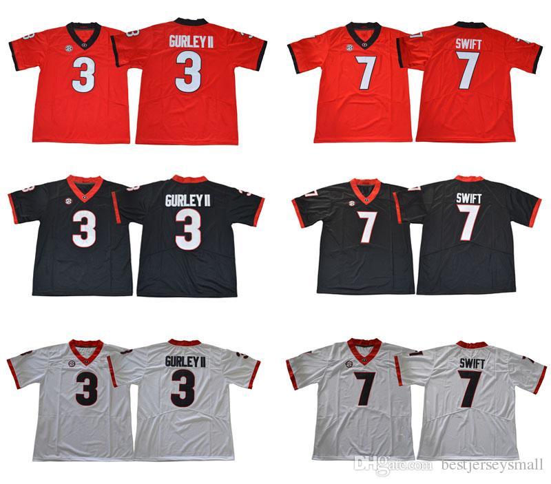 2018 Cheap Georgia Bulldogs College Jerseys 3 Todd Gurley II 7 D Andre  Swift 10 Jacob Eason 11 Jake Fromm 27 Nick Chubb 34 Herschel Walker Online  with ... 34082f71b