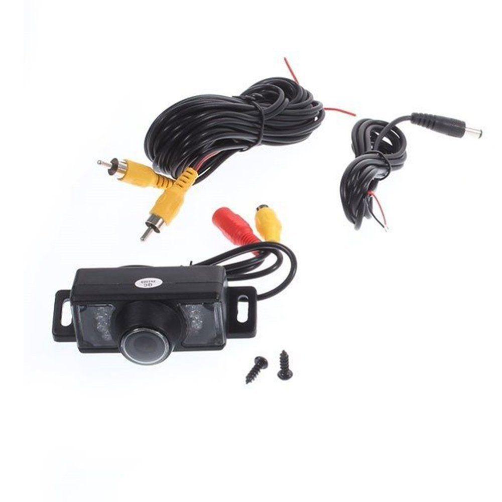 Fotocamera di backup auto Targa posteriore universale impermeabile Targa auto Telecamera retromarcia Telecamera di retromarcia parcheggio posteriore