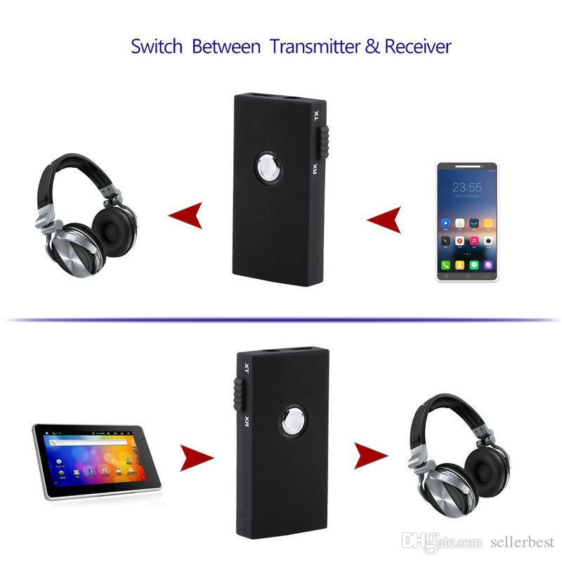 VBESLIFE BTI-010 Stereo 3,5 MM Tragbare Drahtlose Bluetooth 3,0 Sender Und Empfänger Audio Musik Specker Empfänger Für Auto Auto