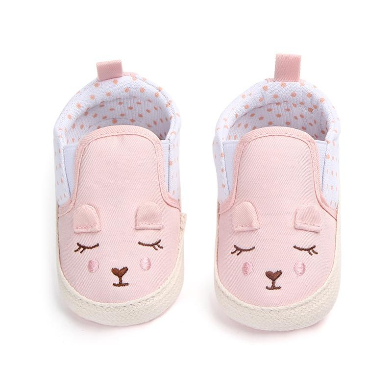 619fd50f03862 2019 Kids Baby Girls Shoes Cotton Cute Animal Pattern Shoes Anti Slip  Toddler Crib First Walkers 0 18 Months From Bradle