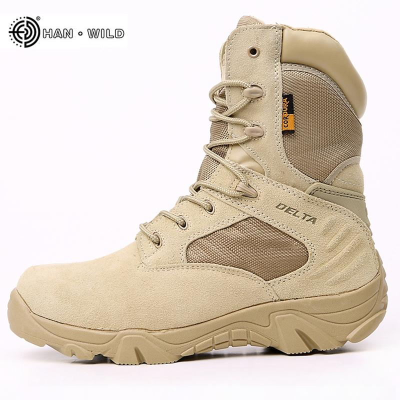 3f0413926ac0 2019 Winter Tactical Military Boots Men Special Force Waterproof Leather  Desert Work Shoes Men S Combat Army Ankle Boot Sneakers Ankle Boot High  Heel Shoes ...