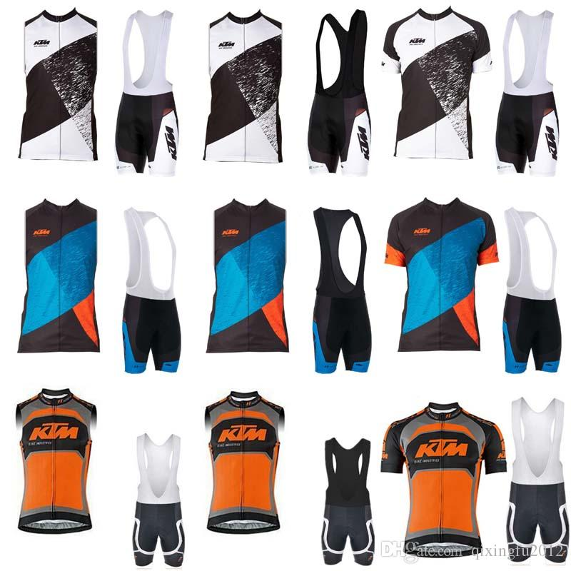 KTM Cycling Clothing And Cycling Bib Shorts Kits Breathable Bike Clothes Ropa  Ciclismo Bike Jerseys Sportswear C0712 Gore Bike Wear Bike Accessories From  ... 6afd5eee2