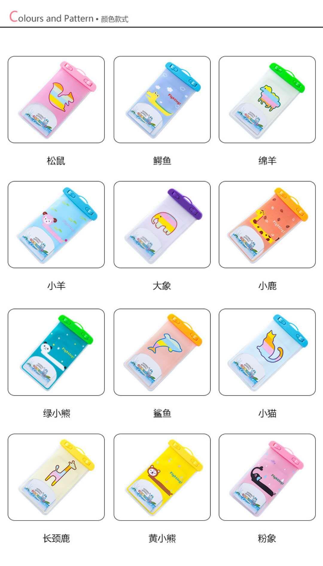 Funda impermeable universal Mpow, bolsa impermeable para teléfono IPX8 Bolsa seca