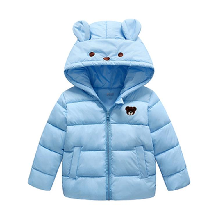 cd0c95c9c New Girls Winter Jackets Boys Cartoon Style Girl Fashion Outerwear ...