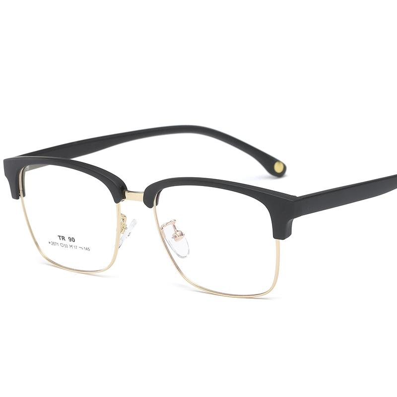 f8a59d5948 2019 2018 Fashion Women Glasses Frame Men Eyeglasses Frame Vintage Square  Clear Lens Glasses Optical Spectacle With Box FML From Milknew