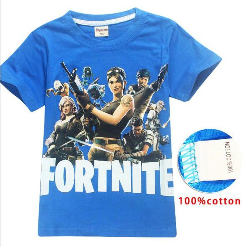 bb2572b357fa 2019 Luxury Quality Children Fortnite Kids Shirt Big Boy Tops Students Tees  Sweater Shirt Kids Casual T Shirts Outfits 6 14 Years XZT039 From  Jacyfengwu