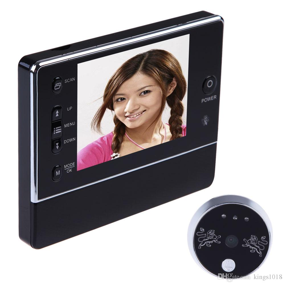 2018 3.5 Lcd Digital Magic Eye Wireless Door Peephole Camera 120 ...