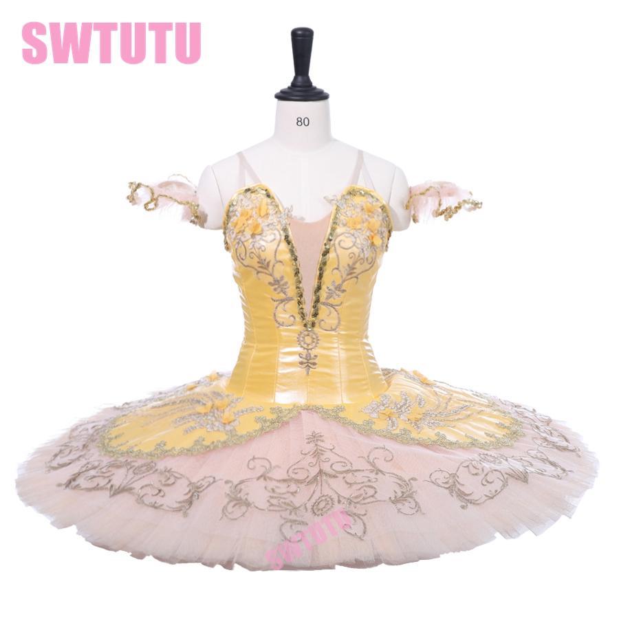 Acquista Costume Di Danza Classica Costume Di Scena Tutu Gonna Adulto Fata  D oro Tutu Di Balletto Professionale Paquita Raymonda Tutu Girls BT9233 A   332.27 ... 7fa62f0923a