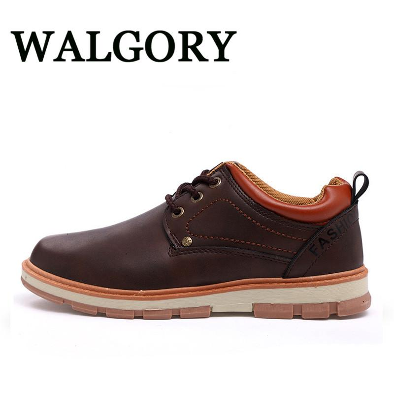 Walgory Mens Work Shoes Men Casual Oxford Shoes Comfortable Flats
