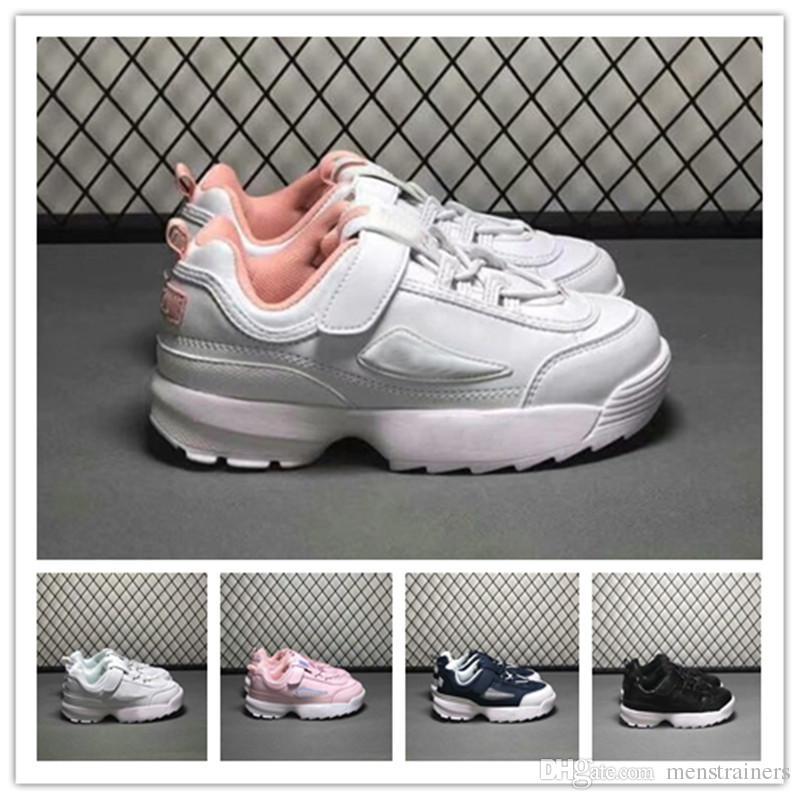 Chicas Niños Moda Zapatillas Filas Deporte Compre De RF1vqt