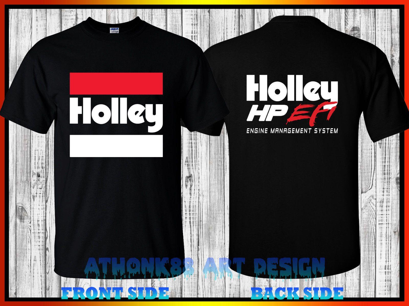 HOLLEY HP EFI T-SHIRT HOLLEY HP EFI ENGINE MANAGEMENT SYSTEM T-SHIRT O-Neck  T Shirt Casual O-Neck Print Tops t shirts Men