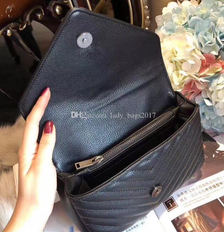 Bolsos clásicos de la ropa de los bolsos de los hombros de las mujeres Colores del bolso del hombro Feminina Clutch Tote Lady Bags Messenger Bag Purse Shopping Tote
