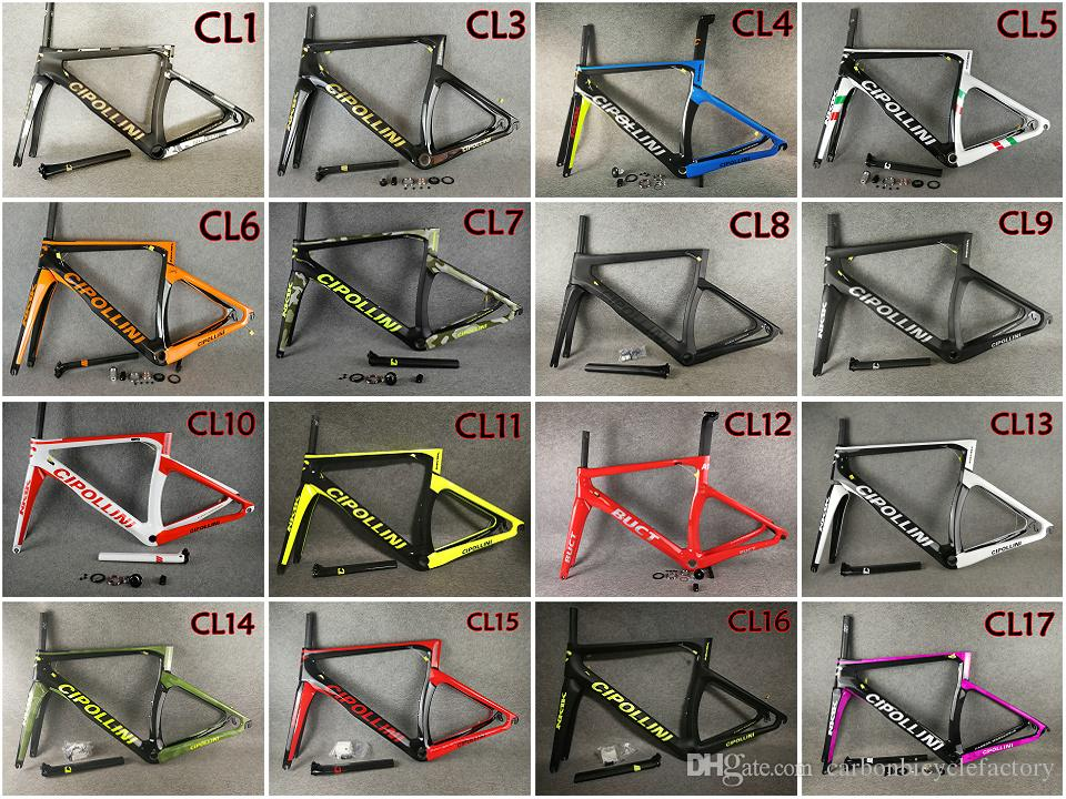 T1000 3K/UD With 27 models BB30/BB68 Cipollini NK1K carbon road bike frames NK1K road bicycle carbon frames Free shipping