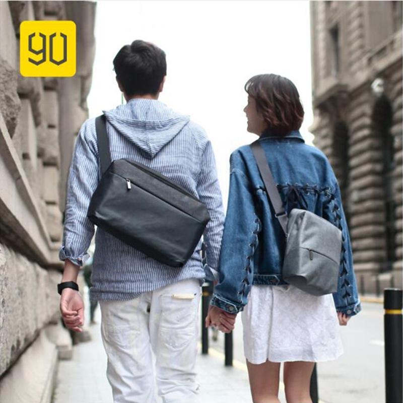 60650b10ba Xiaomi 90FUN Messenger Bag Water Resistant Crossbody Bags For Women Men  Satchels School Business Travel Shoulder Bag Leather Purse Womens Purses  From ...