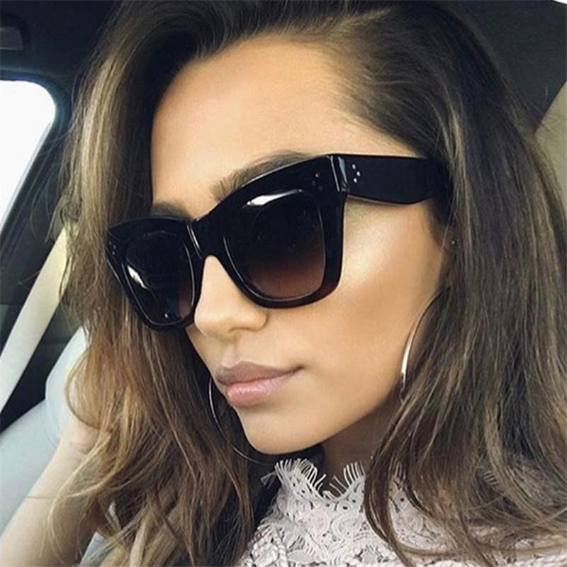 4b90227d6 Compre Imwete Retângulo Óculos De Sol Das Mulheres Dos Homens Do Vintage  Designer De Marca Óculos De Sol Grande Quadro Óculos De Sol Das Senhoras  Rebite ...
