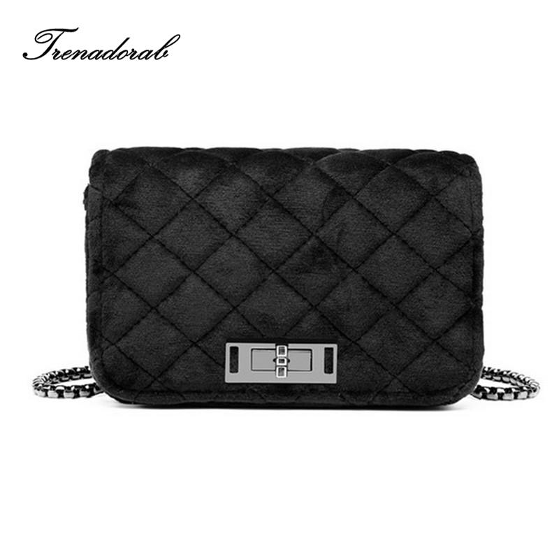 Velour Crossbody Bag Women Bag Luxury Handbag Women Purse And Clutch ... fce91626f2ca7