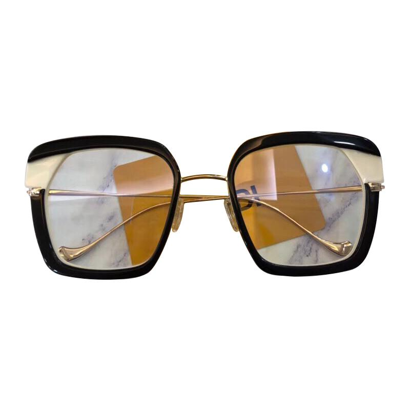 ee42492a7ec Full Vintage Square Eyeglasses For Women 2018 Acetate Optical ...