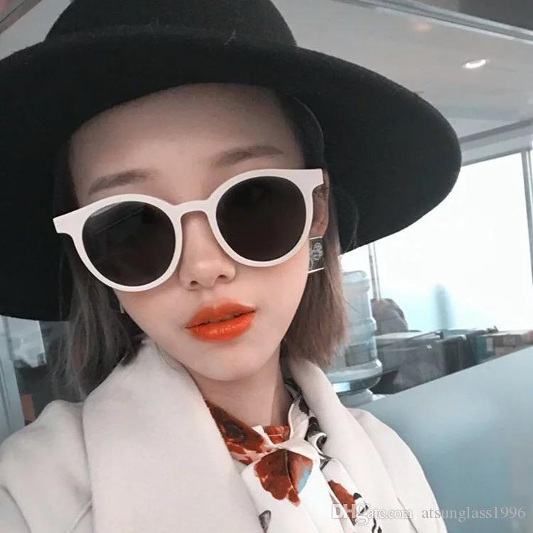10042009a5 Luxury Vintage Round Sunglasses Women Brand Designer 2018 Cat Eye  Sunglasses Sun Glasses For Women Female Ladies Sunglass Mirror Sunglasses  Cheap Sunglasses ...