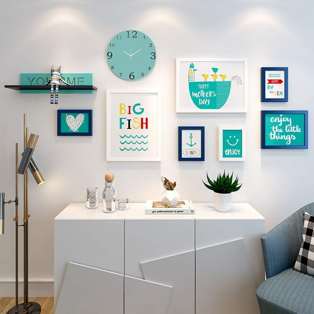 Großhandel 7 Bilderrahmen Wall Gallery Kit Beinhaltet: Frames, Kunst ...