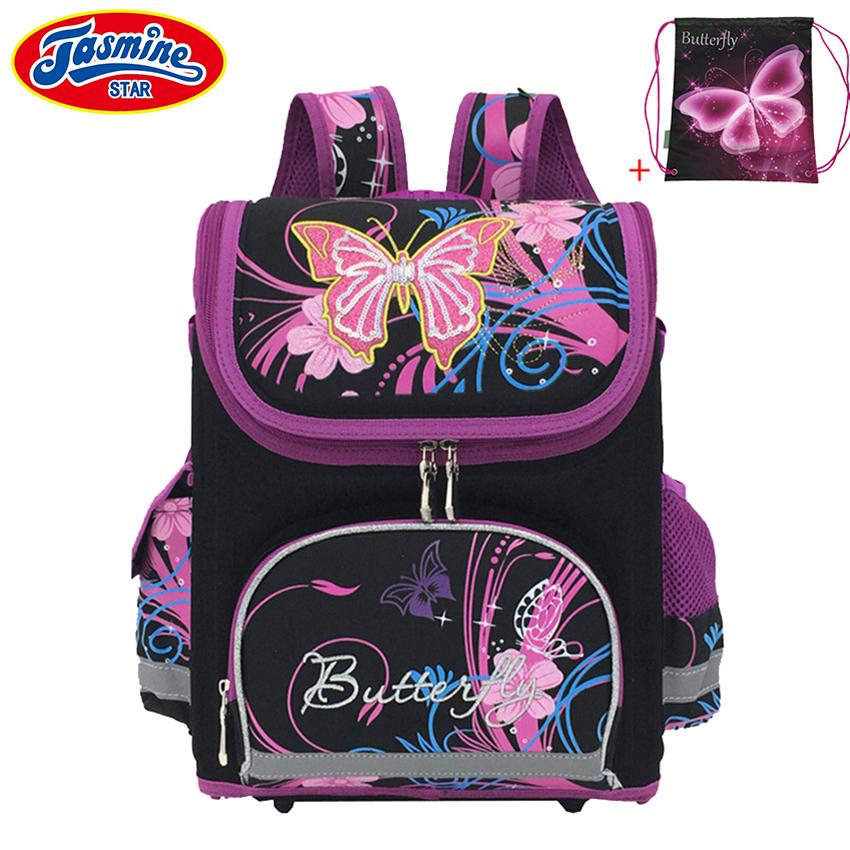 d2e95884778d JASMINESTAR Children School Bags For Girls Boys Backpack School Cartoon  Mochila Infantil Large Capacity Orthopedic Backpack Kids Y18110107 Notebook  Backpack ...