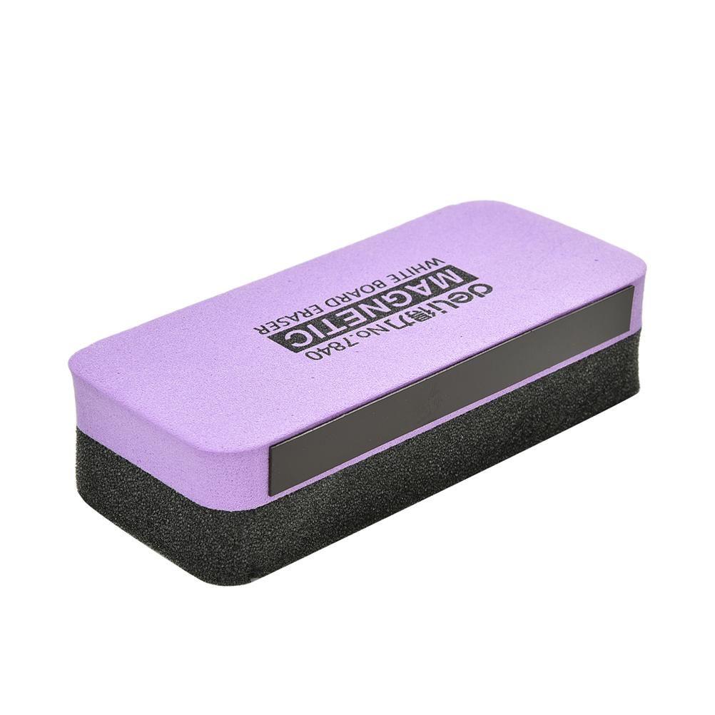 11x5x3cm Magnetic Whiteboard Blackboard Cleaner Dry Wipe Marker Erasers Drawing Draft Foam Eraser School Chalk Brush Stationery free shippin