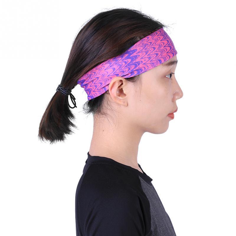 6f5195e855cb 2019 Unisex Sport Sweatband Tennis Fitness Hairbands Yoga Football Running  Headband Elastic Stretch Badminton Head Band For Men Women From Diedou