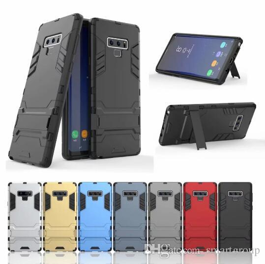 the latest d4999 e8965 For Samsung Note 9 Case Stand Rugged Combo Hybrid Armor Bracket Impact  Holster Protective Cover Case For Samsung Galaxy Note 9