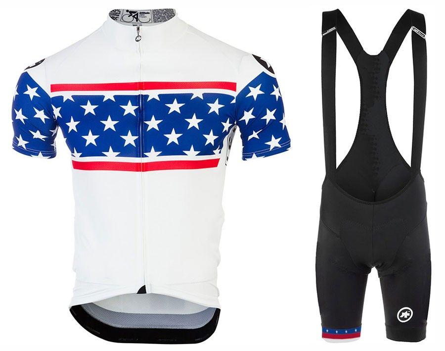 2018 Assos Short Sleeves Cycling Jersey Bib Sets Ropa De Ciclismo ... 57271212c