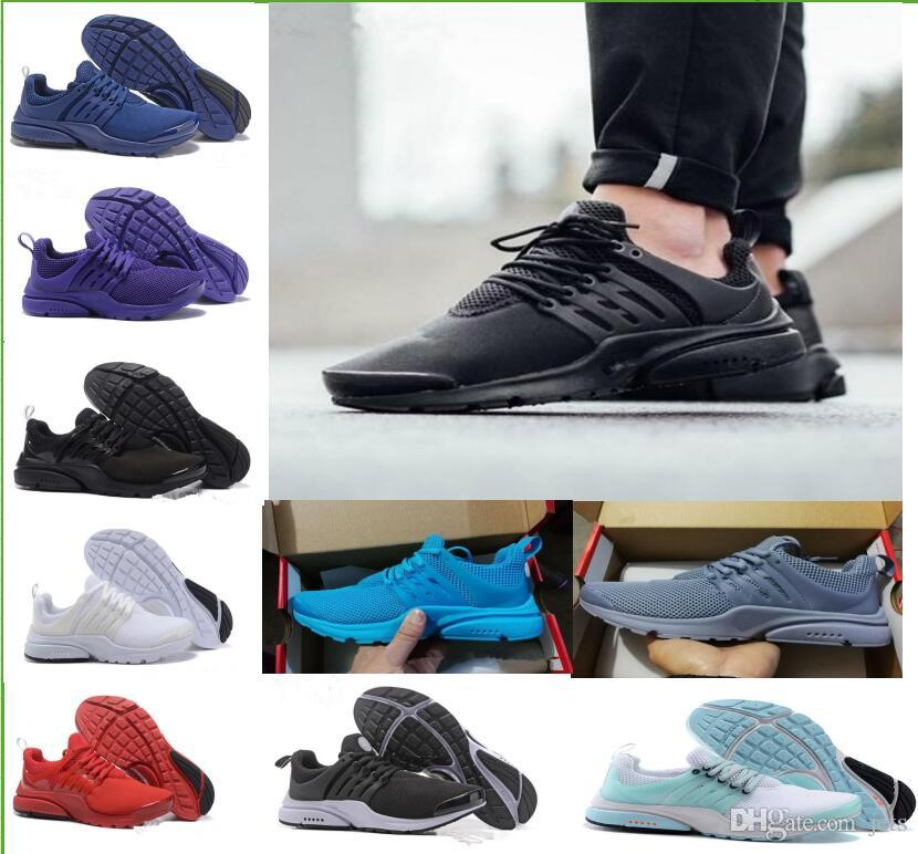 6a6fb637f5c5 Sale 2018 New Prestos 5 Running Men Women Shoes For Cheap Presto Air Ultra  BR QS Yellow Black White Essential Basketball Jogging Sneakers Mens Trail  Running ...